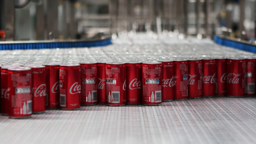 СМИ сообщили о планах Coca-Cola начать выпускать алкогольные напитки