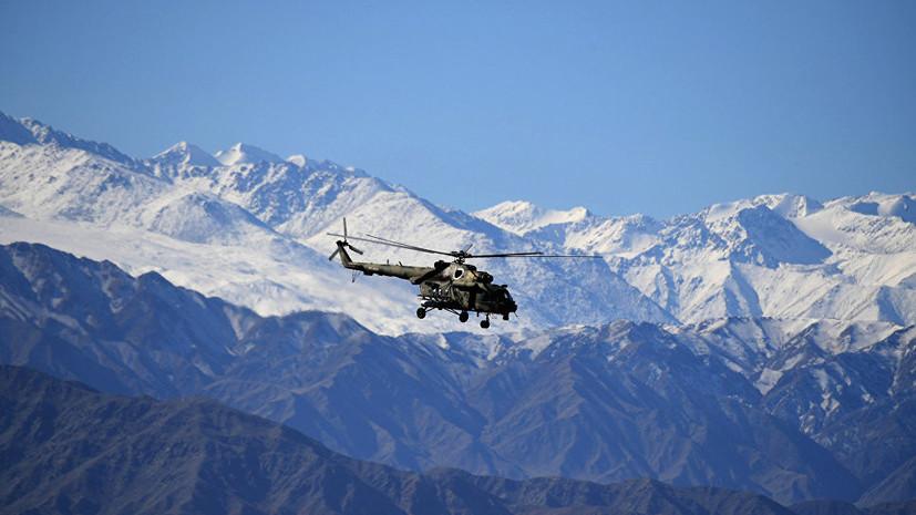Источник: упавший в Чечне вертолёт при посадке задел лопастями землю