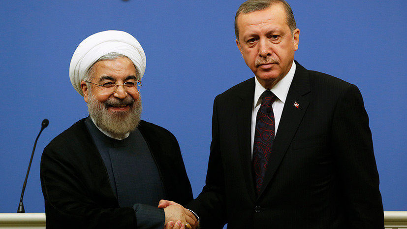 Эрдоган и Рухани по телефону обсудили ситуацию в Восточной Гуте