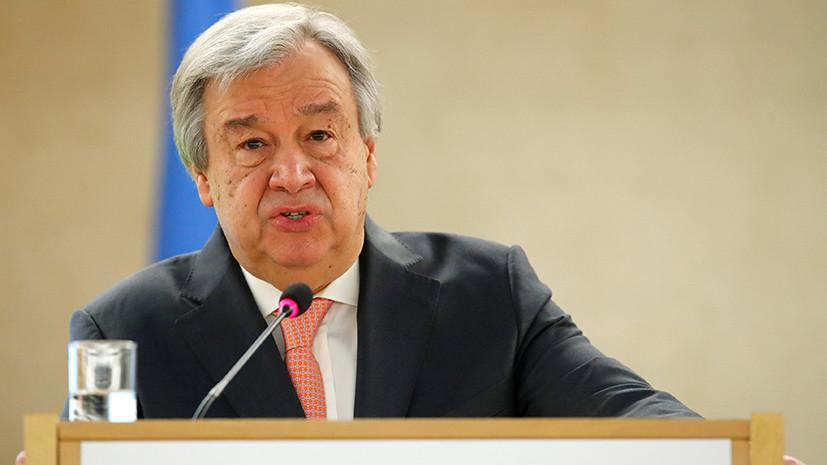 Генсек ООН призвал дать власть женщинам