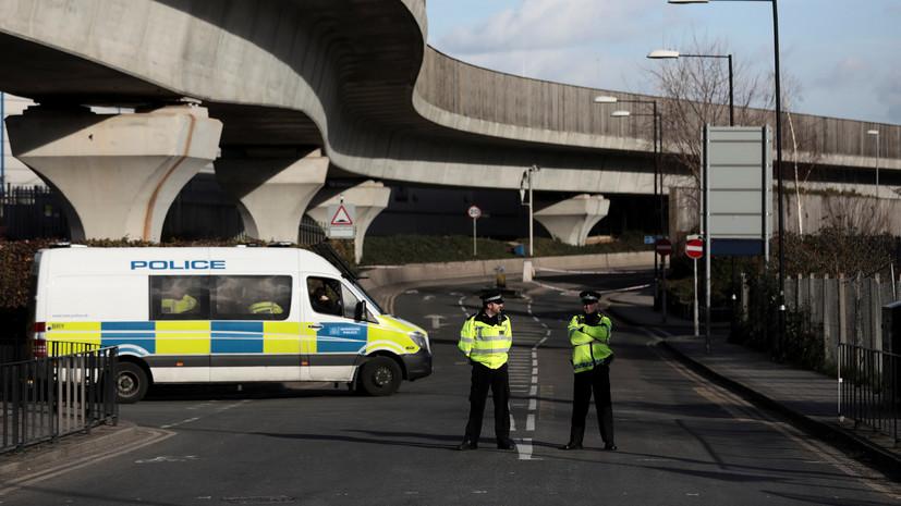 Полиция Британии заявила о рекордном числе задержаний по подозрению в терроризме