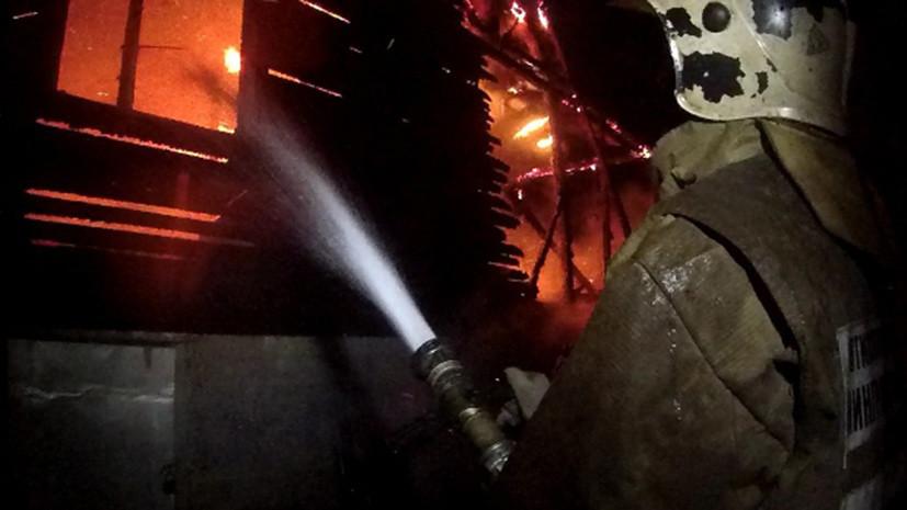 Сотрудники МЧС спасли 19 человек при тушении пожара в Выборге