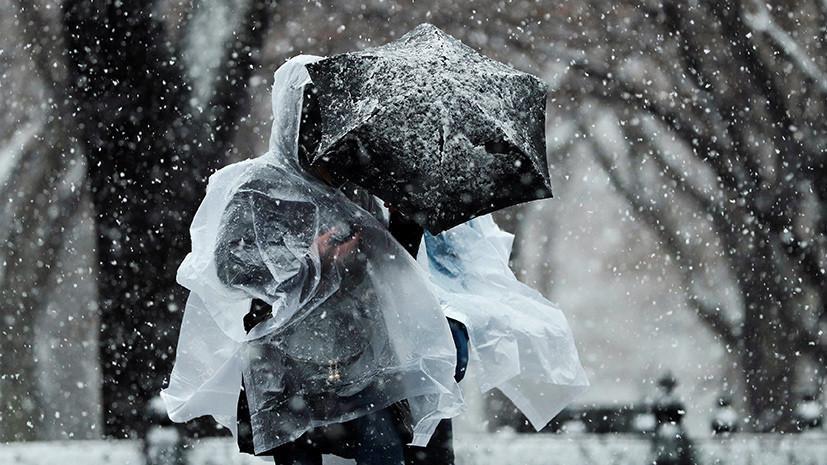 В Пенсильвании более 100 тысяч человек остались без электричества из-за снежного шторма