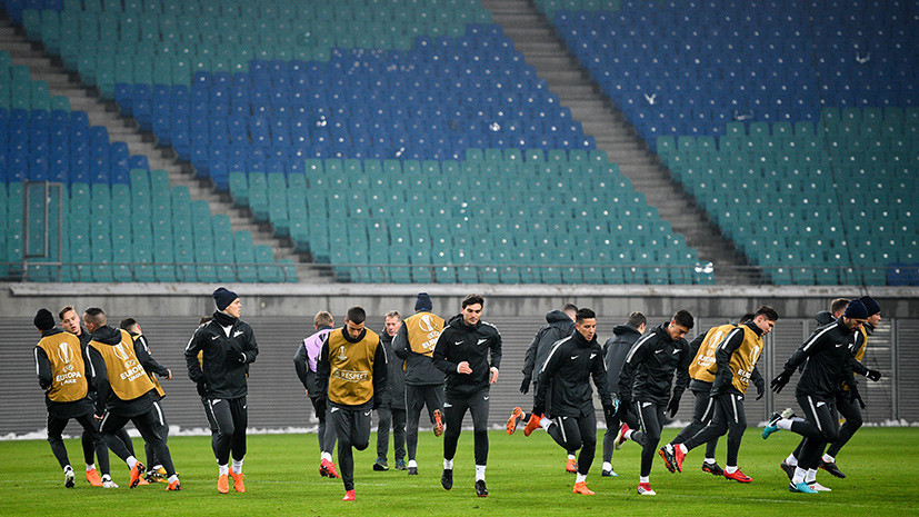 «Зенит» представил стартовый состав на матч плей-офф Лиги Европы с «РБ Лейпциг»