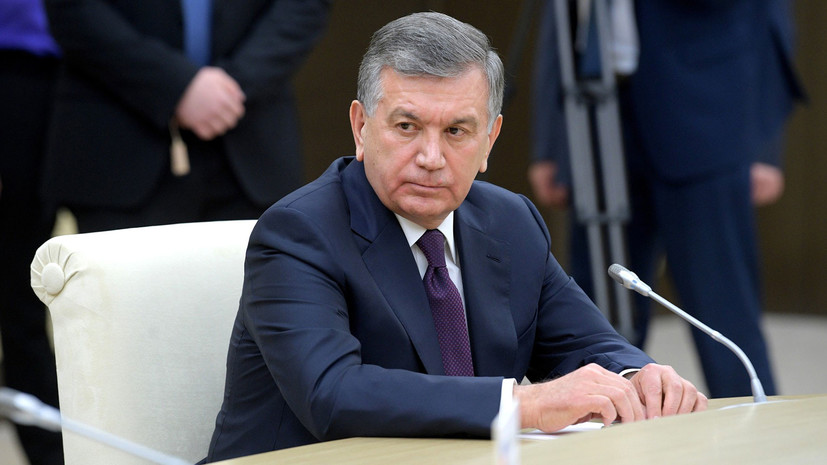 Президент Узбекистана прибыл с первым государственным визитом в Таджикистан