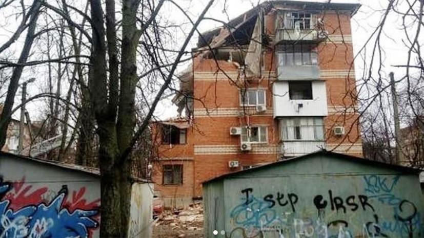 Число пострадавших при взрыве газа в Краснодаре возросло до шести