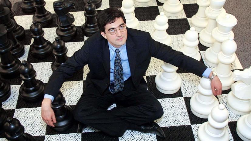 Гроссмейстер Крамник рассказал о получении уайлд-кард от организаторов турнира претендентов
