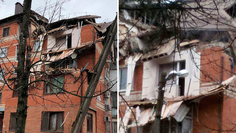 Повреждены квартиры, обрушилась кровля: семь человек получили ранения при взрыве газа в Краснодаре