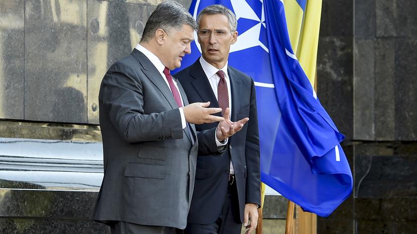 «Речь о членстве в альянсе не идёт»: что даст Украине статус «страны-аспиранта» в НАТО