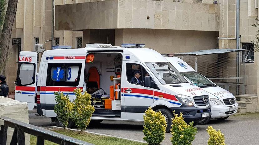 СМИ: В Азербайджане при ДТП с автобусом пострадали 19 школьников