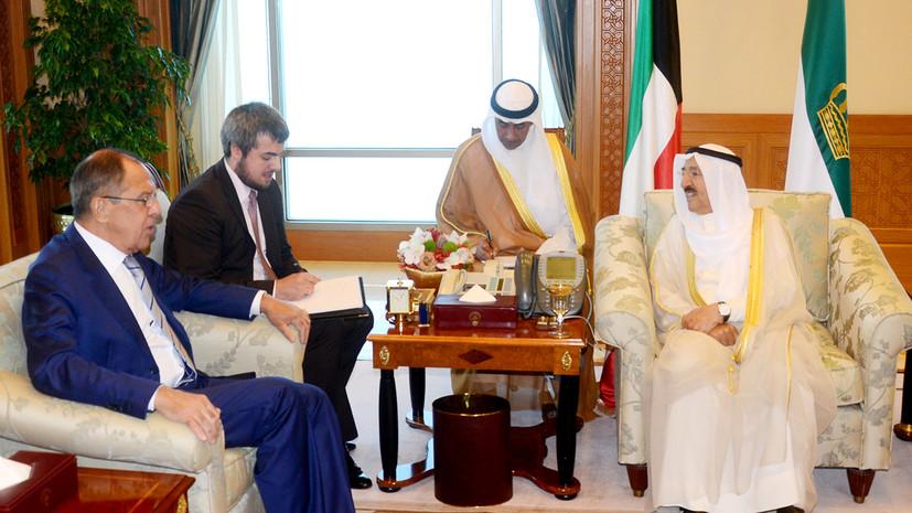 Главы МИД России и Кувейта поздравили друг друга с 55-летием установления дипотношений