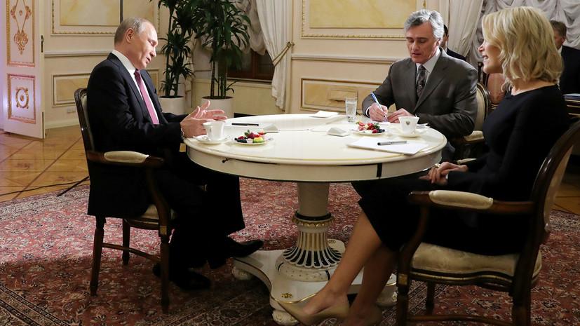 Журналистка NBC заподозрила, что у Путина «что-то есть» на Трампа