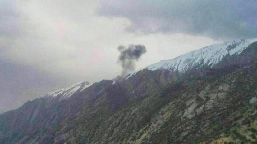 СМИ: На борту разбившегося в Иране самолёта находились по меньшей мере 11 человек