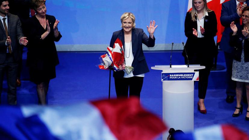 Ле Пен предложила сменить название Национального фронта на Национальный союз