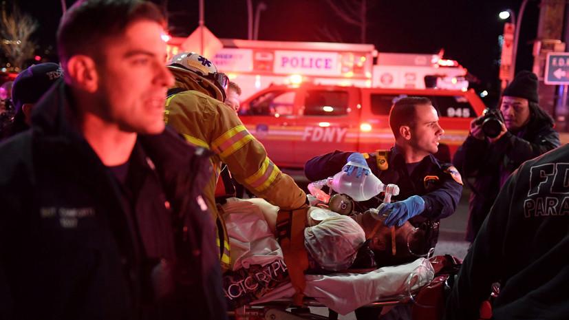 Число погибших при крушении вертолёта в Нью-Йорке возросло до пяти