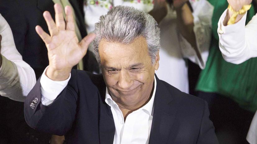 Президент Эквадора не смог вернуться из Чили домой из-за проблем с самолётом