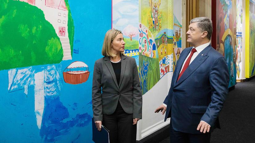 Порошенко приветствует продление санкций ЕС против России
