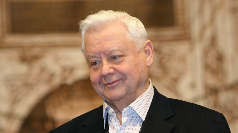 В Минкультуры выразили соболезнования в связи со смертью Олега Табакова