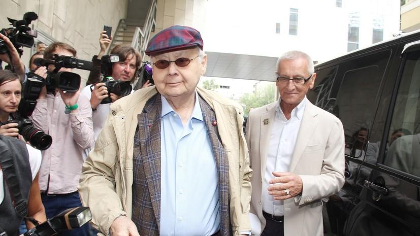 Садальский выразил соболезнования в связи с кончиной Табакова