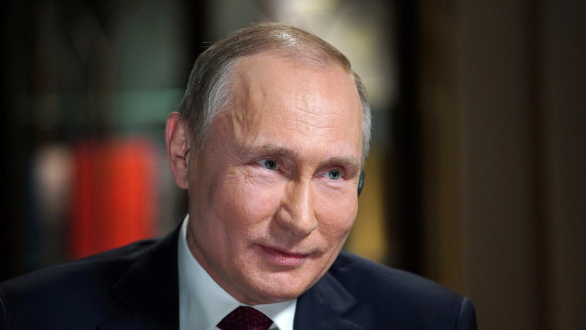 Путин пошутил про разведку и хлеб