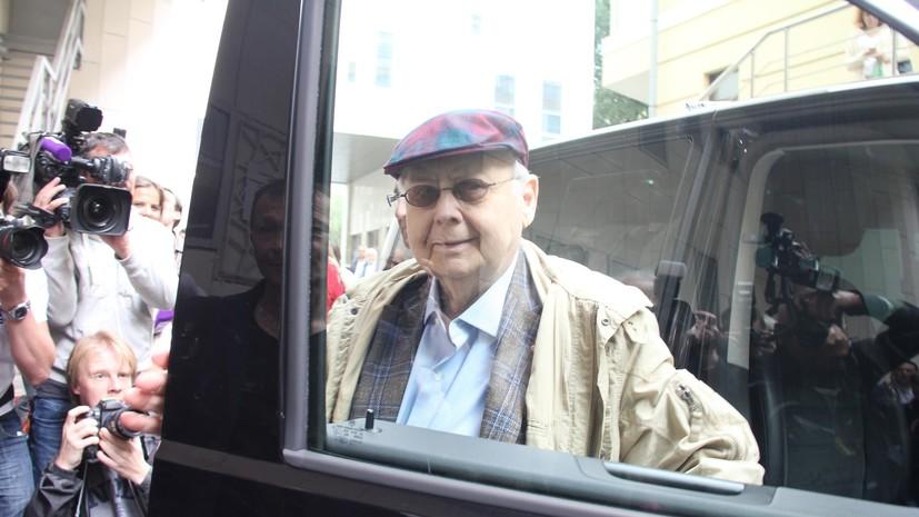 ФК «Спартак» выразил соболезнования в связи со смертью Табакова