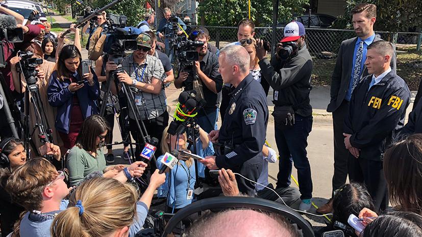 В Техасе объявили награду в $15 тысяч за информацию о причастных к взрывам в Остине