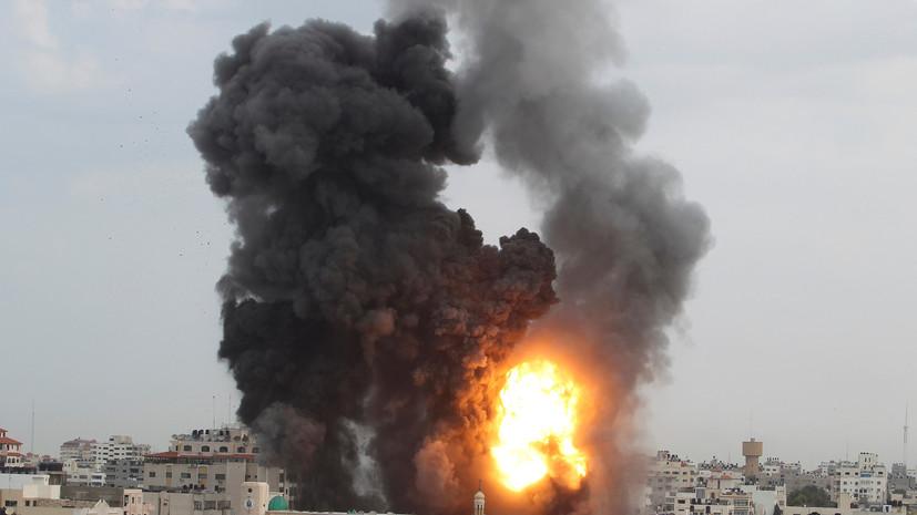 СМИ: В секторе Газа произошёл взрыв рядом с кортежем палестинского премьера
