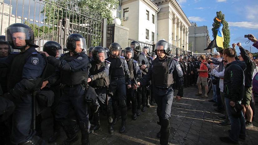 МИД потребовал от Украины обеспечить безопасность диппредставительств России на выборах