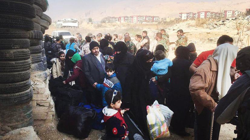 Спешная эвакуация: Восточную Гуту смогли покинуть около 100 мирных жителей