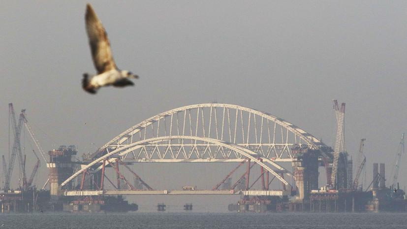 Путин посетит Крымский мост