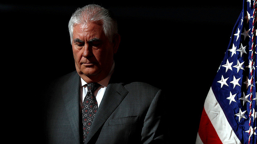 Замглавы Госдепа США: Тиллерсон не знает о причинах своего увольнения