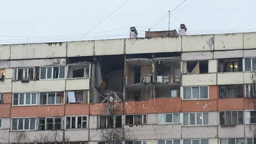Источник сообщил о взрыве в жилом доме в Санкт-Петербурге