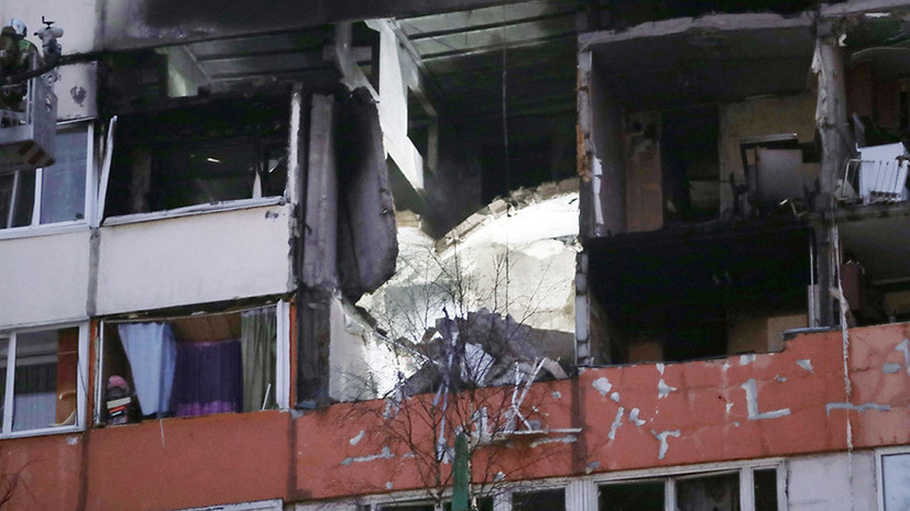 В МВД назвали возможную причину хлопка в жилом доме в Петербурге