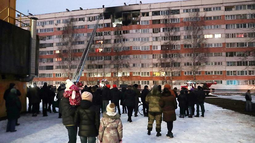 В МЧС уточнили число пострадавших в результате хлопка газа в Петербурге