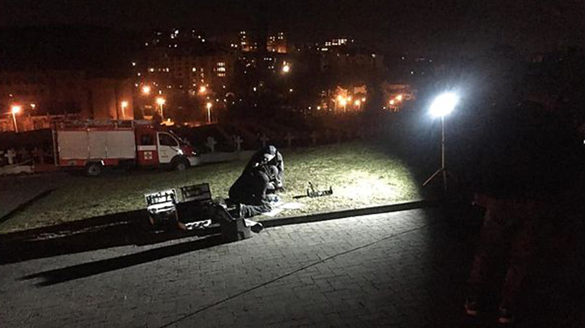 СМИ: Во Львове возле польского мемориала произошёл взрыв