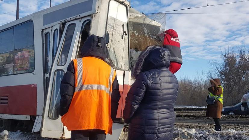 Источник: в Ульяновске в ДТП с трамваем пострадали семь человек