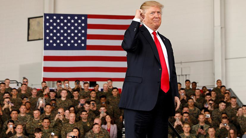 Военный эксперт оценил заявление Трампа о возможном создании в США космических войск