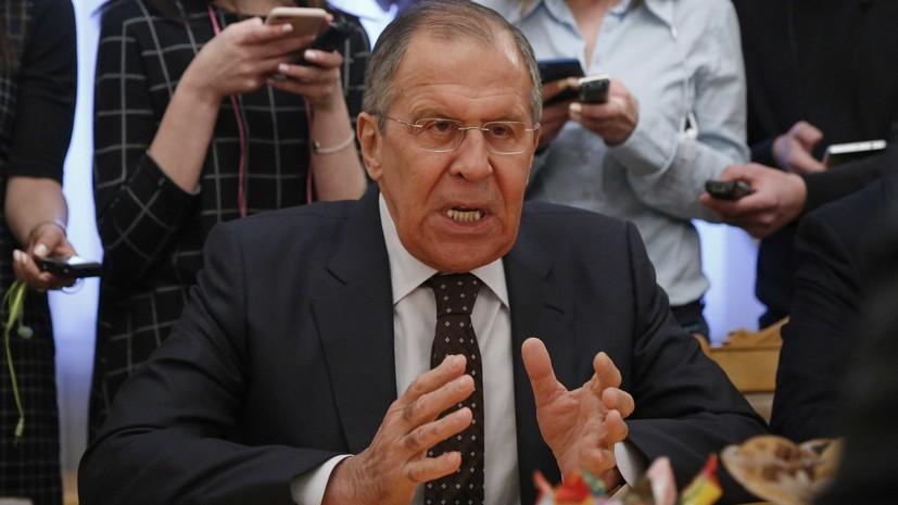 Лавров заявил, что Москва жёстко предостерегла США от безответственных действий в Сирии