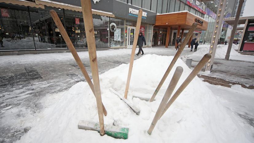 В Москве и Подмосковье продлили «жёлтый» уровень опасности из-за сильного ветра