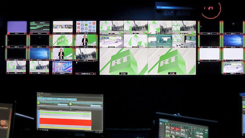 Мэй: вопрос вещания RT в Британии находится в компетенции Ofcom