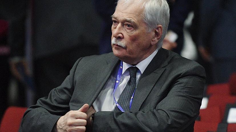 Грызлов заявил о стремлении Украины обострить ситуацию в Донбассе