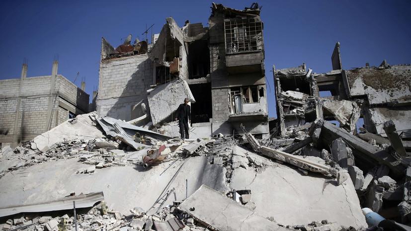 Центр по примирению: ежедневные обстрелы боевиками Дамаска не прекращаются