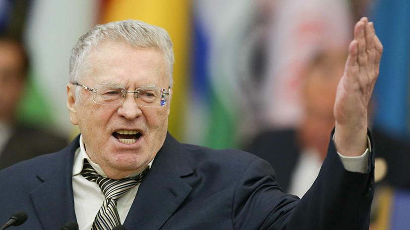 Жириновский прокомментировал инцидент с Собчак в ходе дебатов