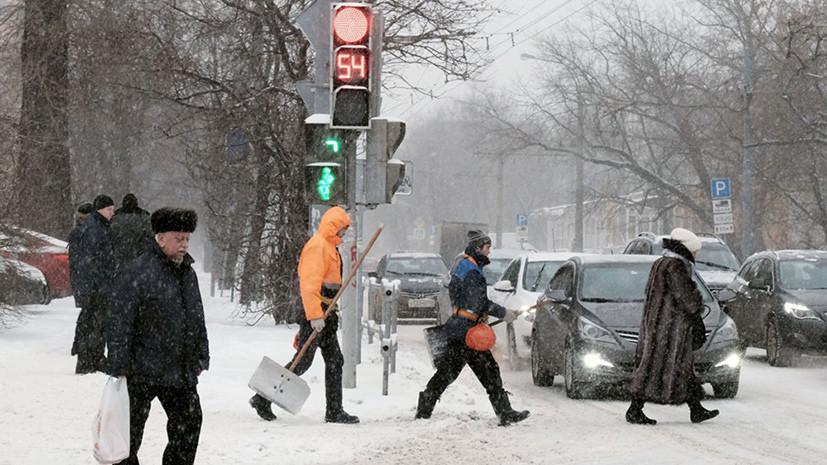 В Москве из-за непогоды водителей просят пересесть на общественный транспорт