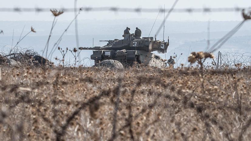 Израильские танки обстреляли позиции ХАМАС в секторе Газа