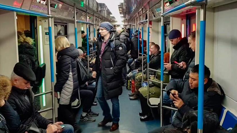 Московское метро переведено на усиленный режим работы из-за ухудшения погоды