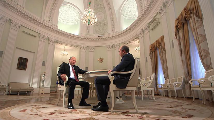 Путин рассказал, почему старается пить меньше пива