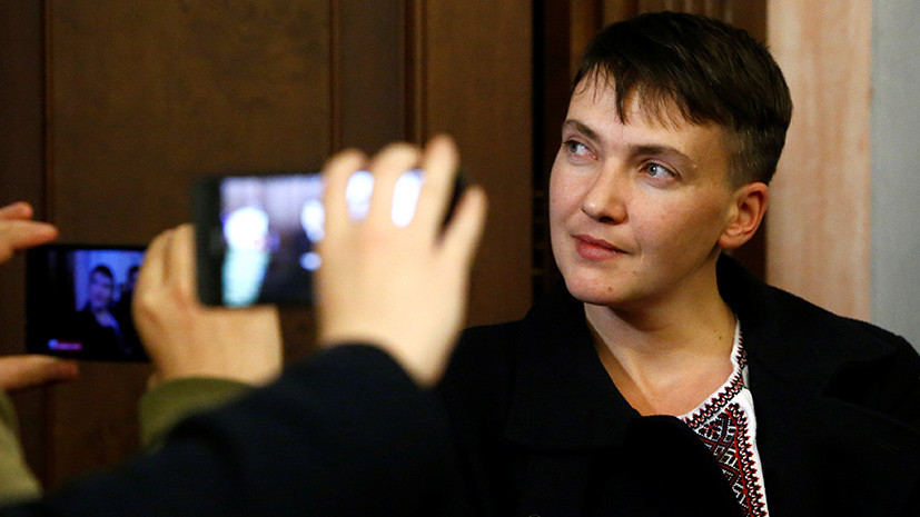 Генпрокурор Украины внёс в Раду представление на арест Савченко