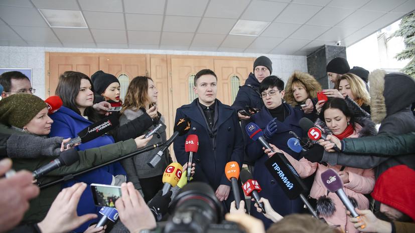 Савченко: я дала показания против Порошенко в судебных инстанциях Европы