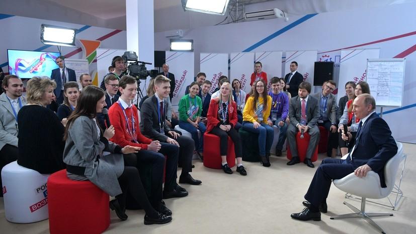 Путин рассказал, из чего складывается успех России